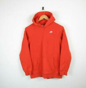 Youth Kids Nike Hoody Hoodie Pullover Jumper Orange Size XL Boy Age 13/15 Years