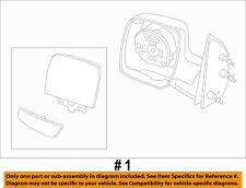 FORD OEM E-350 Super Duty Door Side Rear View-Mirror Assy Left 3C2Z17683FAA