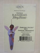 "THOMAS BLACKSHEAR 2011 ANNUAL ORNAMENT DARLING DUCKY"" LE  #819046"