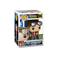 FAST SHIP Funko Pop Back to the Future Marty Checking Watch #965 2020 SDCC Excl.