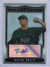 David Price Red Sox 2007 Bowman Sterling Auto Signed Rookie Card rC NM-MT QTY
