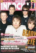 INROCK Jul 2013 7 Japan Music Magazine Beady Eye The Wanted Miley Cyrus