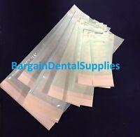 Up To 4000 ALL SIZES QUATRO Indicators Self Seal Pouch SterilizatioN Pouches FDA