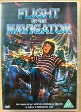 Flight of the Navigator DVD 1986 Walt Disney Sci-Fi Family Film Movie Classic