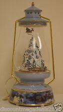 The Bradford Exchange Thomas Kinkade Limited Edition Christmas Musical Lantern