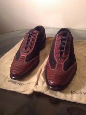 "Via Veneto Roma Men's Shoes,Handmade,""PYTHON SNAKE SKIN"" Sz 11 ( $1,500 )"