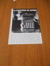 1972 CALCOLATRICE TASCABILE HANDY LE BUSICOM POCKET CALCULATOR MOSTEK VINTAGE