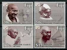 Fiji 2018 MNH Mahatma Gandhi 150 Years 4v Set Famous People Stamps