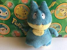 Pokemon Plush Munchlax Jakks 2007 figure stuffed animal doll Bean Bag Toy Go