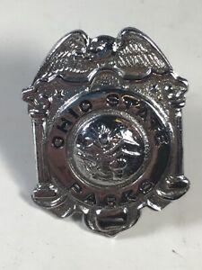 Vintage Obsolete Ohio State Parks Hat Badge A5