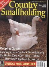 COUNTRY SMALLHOLDING MAGAZINE - June 2001