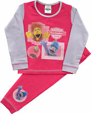 BRAND NEW GIRLS SESAME STREET THE FURCHESTER HOTEL PYJAMAS AGES 1.5  to 5 years
