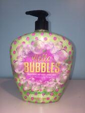 Designer Skin Hello Bubbles Tan Extending Body Wash Bubble Bath 16oz Bottle New