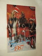 Wasp Christmas Blackie Lawless Chris Holmes Kim Wilde POSTER Holland Dutch