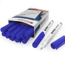 Edding Handwriter Écriture Manuscrite Stylo – Encre Bleue – 0.6mm - Boîte de 12