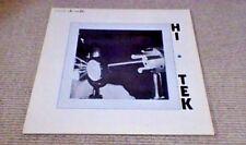 NICK INGMAN Hi-Tek de Wolfe Library LP 1985 Electronic synthétiseur CMI Funk