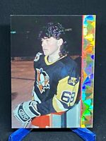 1993 Ballstreet News Jaromir Jagr  Pittsburgh Penguins Gold prism stripe
