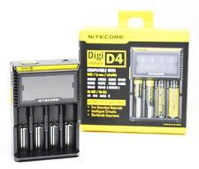 Nitecore Digi D4 Cargador de batería Li-on de Ni-mh Ni-Cd