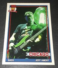 PEARL JAM Wrigley Baseball Card - Jeff Ament 7 light - 2016 Chicago pack cubs