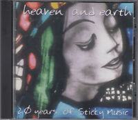 Heaven and Earth : 20 Years of Sticky Music CD Folk World Country Pop FASTPOST