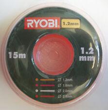 remplacement de SCHNEIDFADEN Guide 1,2 MM 15M RAC100,pour Ryobi ,homelite &