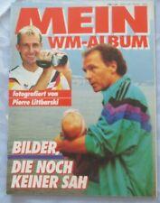 Pierre Littbarski Mein WM-Album Sonderheft Fussball Weltmeisterschaft 1990