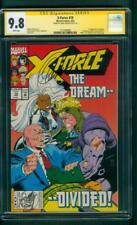 X Force 19 CGC 9.8 SS Greg Capullo 1st Copycat X Men appearance 1993 White pgs