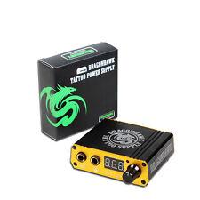 Tattoo Supplies New Mini LCD Digital Tattoo Machine Power Supply For kit P077D