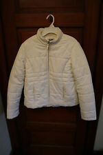 Womens Athletic Works White Winter Jacket Size Medium