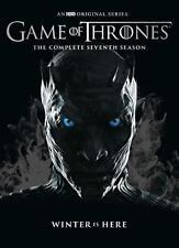 Game of Thrones: season 7  (4 discs dvd set, 8 episodes)