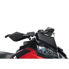 Polaris New Oem Snowmobile Hand Guards Handlebar Wind Deflector Black 2879192