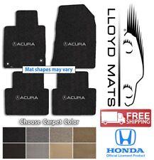 Acura Vehicles 4pc Berber 2 Carpet Floor Mat Set - Choose Color & Logo