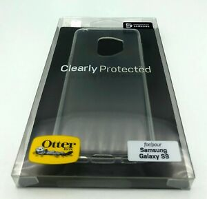 OtterBox Sleek Clearly Protected Skin Case for Samsung Galaxy S9 – Transparent