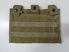 NEW Allied Industries 7P200 Modular 3 Mag Carrier Khaki