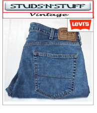 """VINTAGE LEVIS SIGNATURE 550'S RELAXED FIT JEANS W38"""" L30"""" APROX SIZE UK 18 T518"""