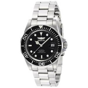 Invicta Men's Watch Pro Diver Black Dial Automatic Stainless Steel Bracelet 8926