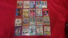 MLB HALL FAMERS CARDS: 20 CARDS IN PLASTIC PROTECTOR: GREAT CONDITION!