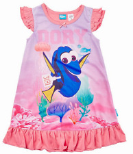 Girls 2 4 5 Finding Dory Blue or Pink Purple Dory Soft Cotton Blend Nightie