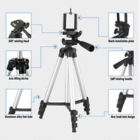 Portable Travel DSLR Camera Tripod Stand Phone Holder Mount For iPhone Samsung