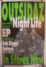 Outsidaz Poster Promo Ep Night Life Rah Digga