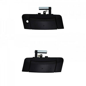 Fit for 03-09 350Z Z33 Fairlady Z Outside Door Handle Front LH & RH Black 2pcs