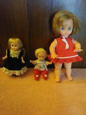 3 Vintage Dolls Suzy Cute.Vogue Ginny Doll And Bella