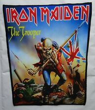 IRON MAIDEN ,,THE TROOPER,, Backpatch Giant Back Patch Rückenaufnäher Aufnäher