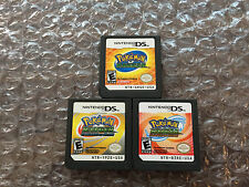 Pokemon Ranger + Shadows of Almia + Guardian Signs (Nintendo DS LOT) Carts Only