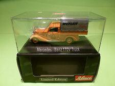 SCHUCO 02265 MERCEDES 170V TRUCK - PLANENWAGEN DUNLOP - 1:43 - MINT IN BOX