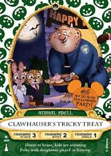 Disney Sorcerers of the Magic Kingdom HALLOWEEN Party 2016 Card - Clawhauser