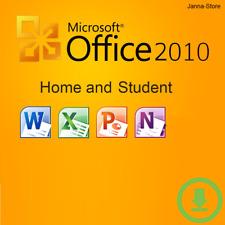 Microsoft Office Home and Student 2010 | 1PC Key Produktschlüssel 32 & 64 Bit