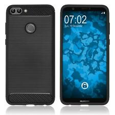 Coque en Silicone Huawei P Smart - Ultimate noir Case