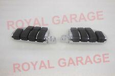 new royal bikes avenger chopper customised rear paddle footrest black chrome 3