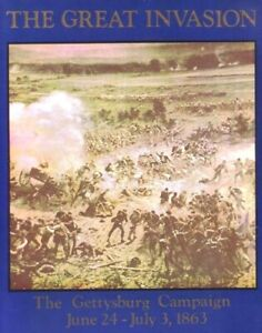 Clash of Arms Games Great Invasion Gettysburg Campaign Civil War Avalon Hill SPI